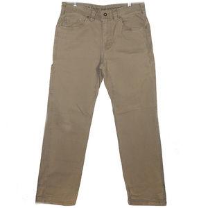 Prana men's khaki pants like new 33X32